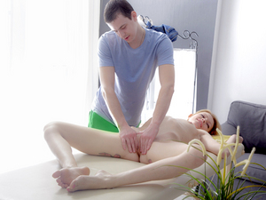 Madison's massage leads to a wild anal fuck